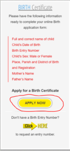 How to apply for your Jamaican Birth Certificate | Jamaican